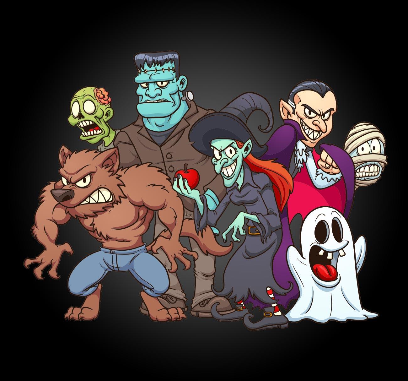 Monster Cartoon Artists